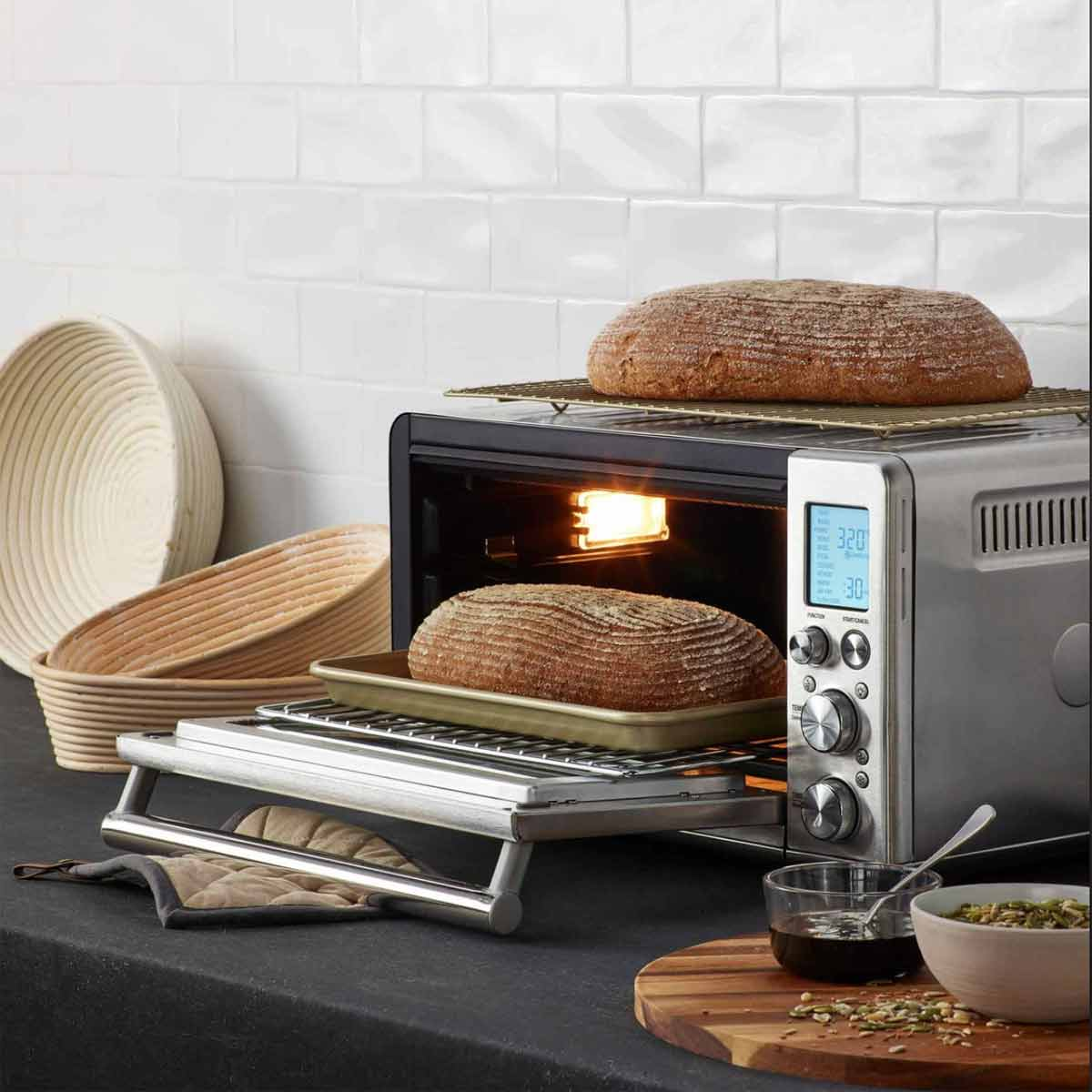 Breville Smart Oven Pro baking bread