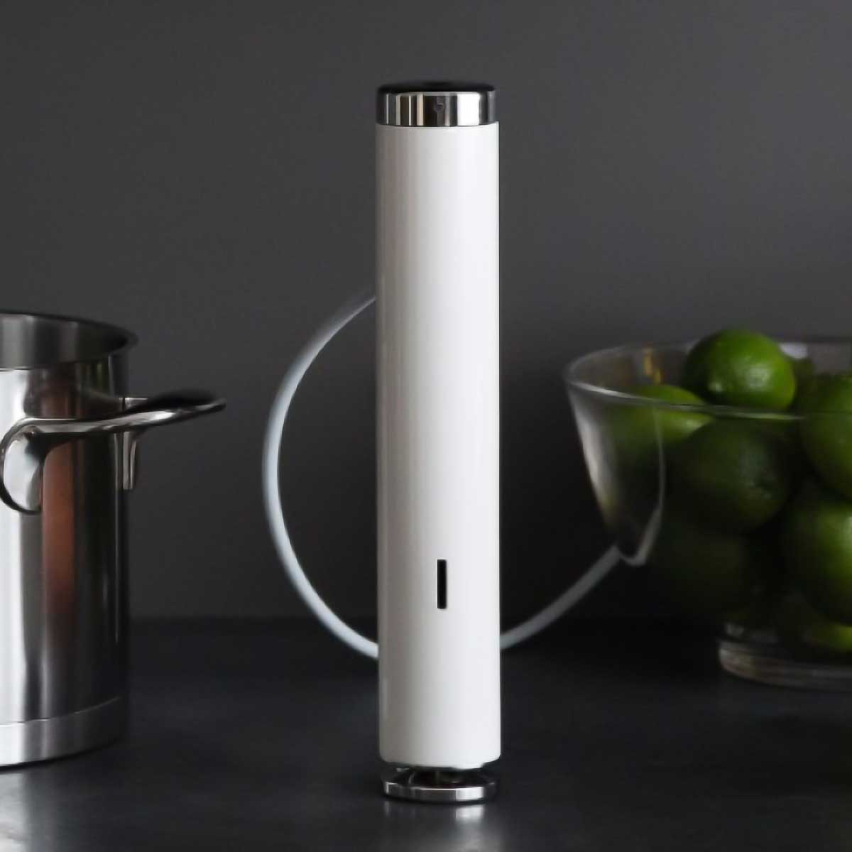 Joule Sous Vide with Dark Background