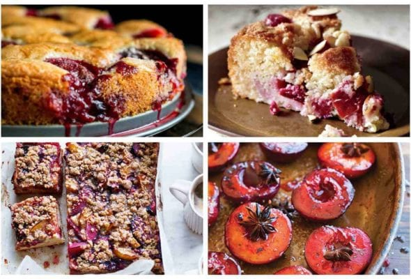 A collection of our best plum recipes.