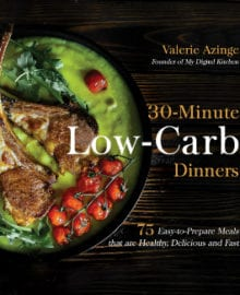 30-Minute Low Carb Dinners Cookbook