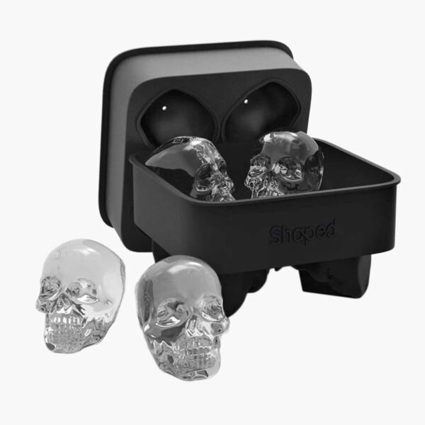 3D Silicon Skull Ice Cube Mold Tray