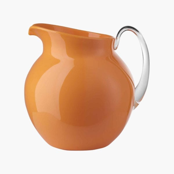 Orange Acrylic Palla Pitcher