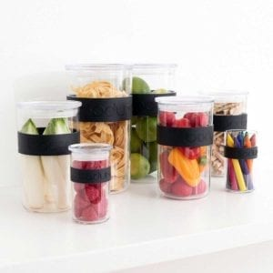 Bodum Presso Storage Containers Filled with Items