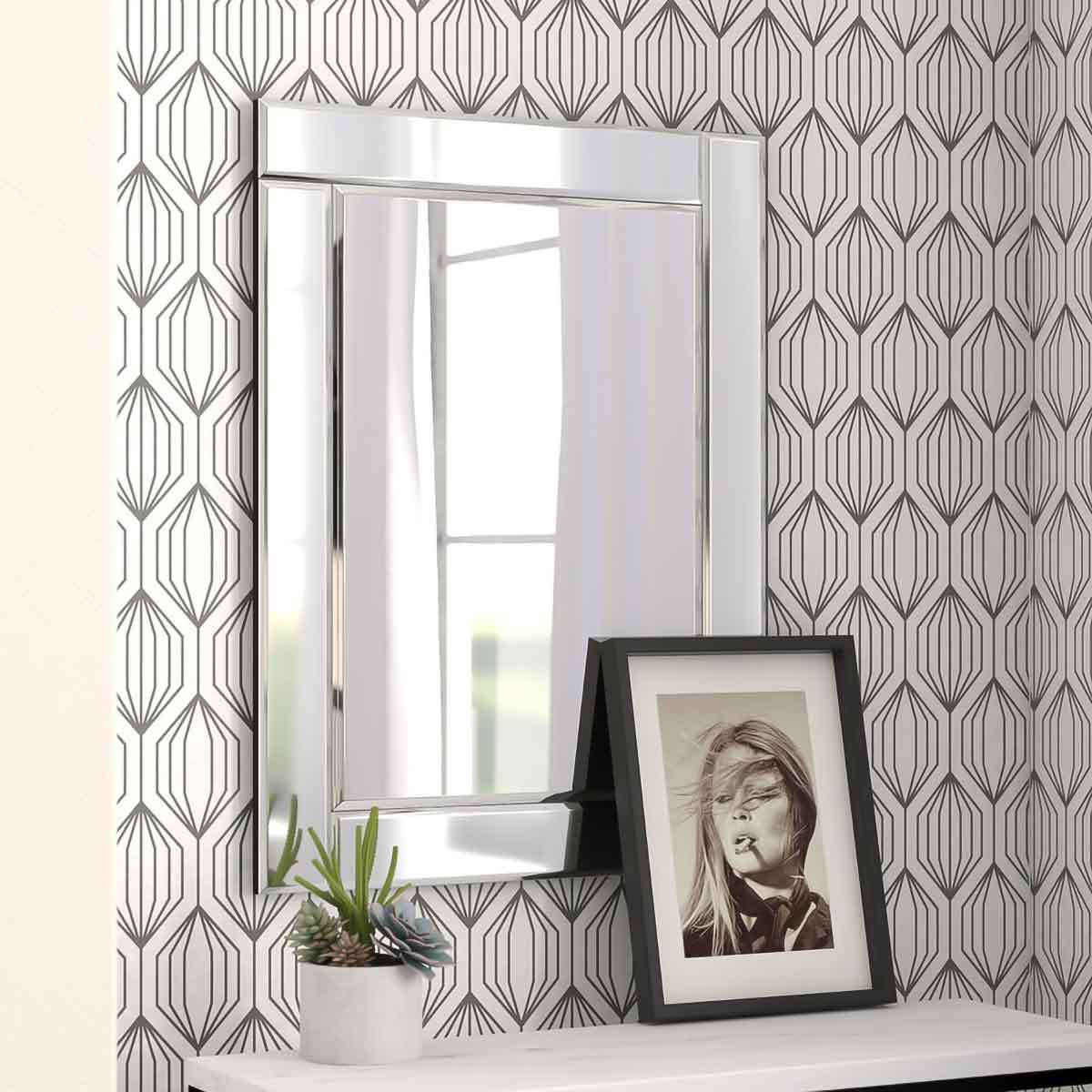 Contemporary Accent Mirror.