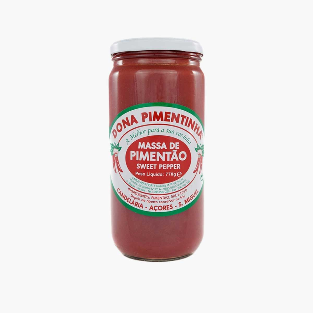 Dona Pimentinha Sweet Pepper Paste