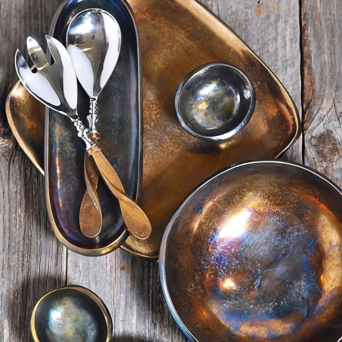 Julia Knight Bronze Eclipse Tray