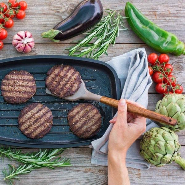Non-stick Silicone Cooking Utensils Cooking Burgers