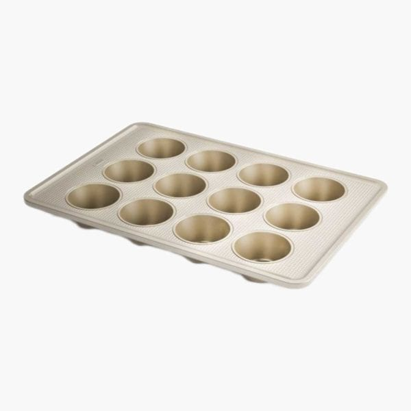 OXO Good Grips Non-Stick Baking Set Muffin Pan Side View
