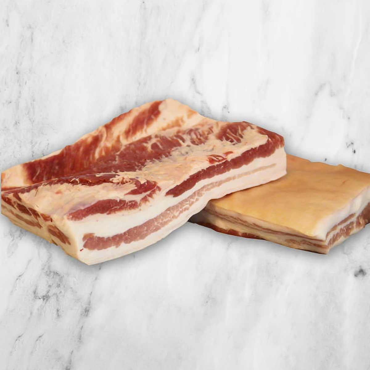 2 Pork Bellies