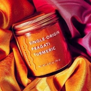 Pragati Tumeric on Silk
