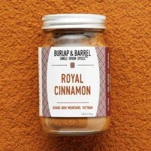 Royal Cinnamon jar.