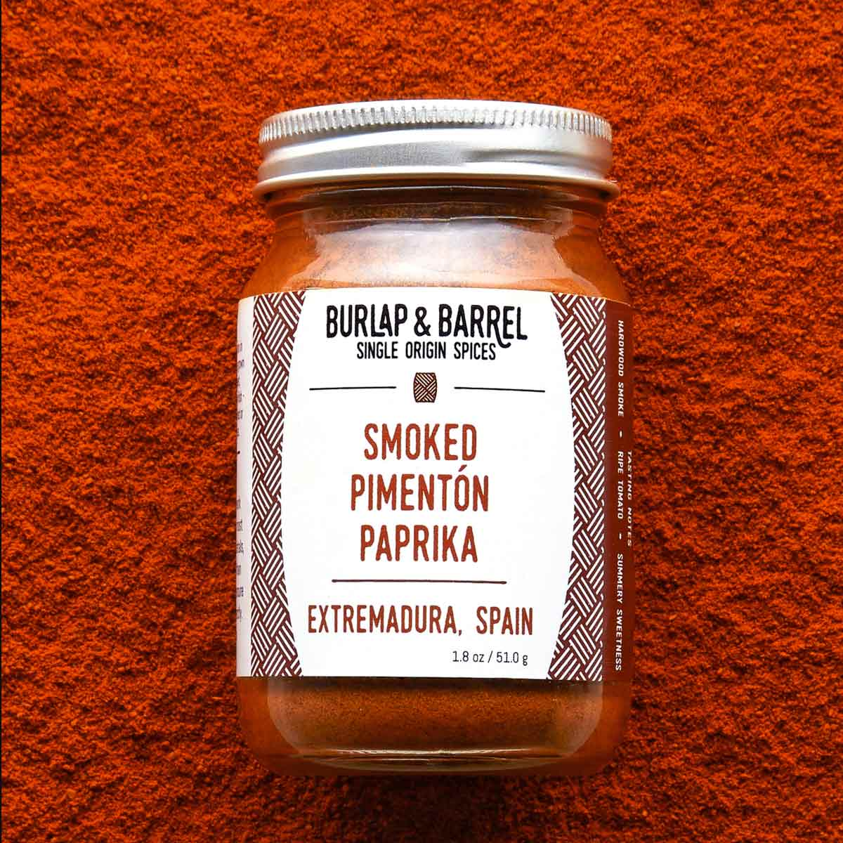 Smoked Pimenton Paprika in small jar
