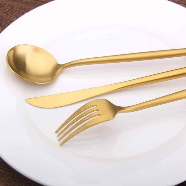 Stainless Steel Satin Finish Flatware Set