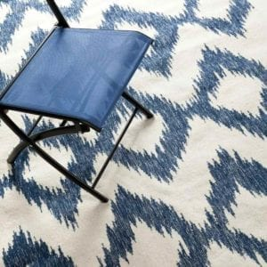 Surya Frontier Rug with Chair