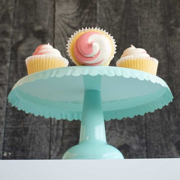 Tin Cake Stand with Cupcakes