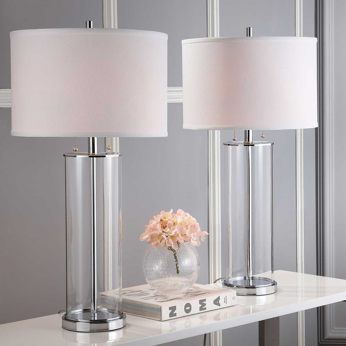 Velma Four-Light Table Lamps.