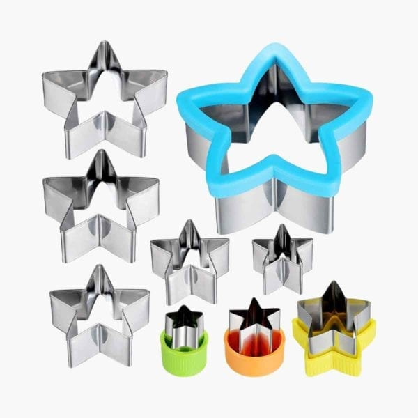 5 Pointed Star Cookie Cutter Set.