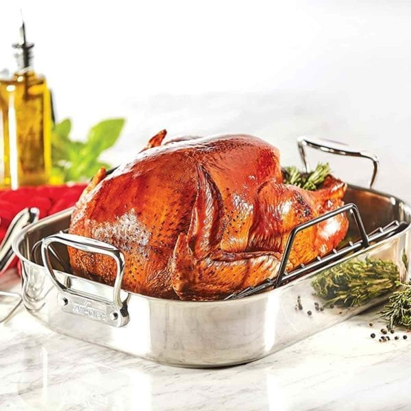 All Clad Roaster with Rack