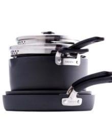 Levels 6-Piece Stackable Cookware Set