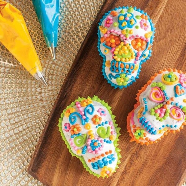 Haunted Skull Cakelet Pan Day of the Dead
