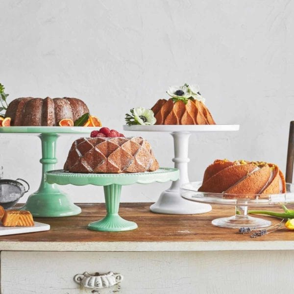 Nordic Ware 70th Anniversary Crown Bundt Pan with Other Shapes