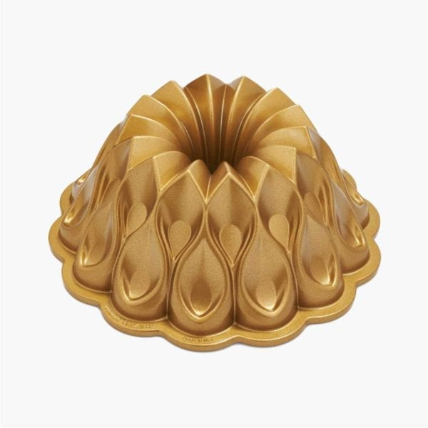 Nordic Ware 70th Anniversary Crown Bundt Pan Side View