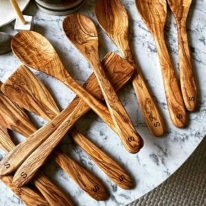 Multiple Olivewood Utensils