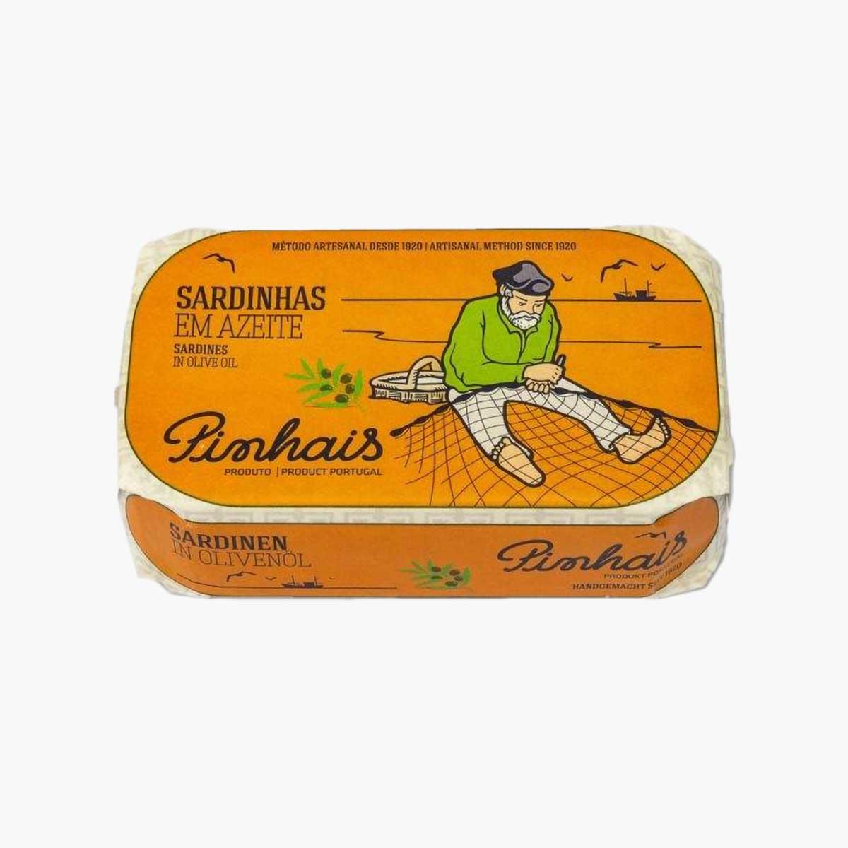 Pinhais Portuguese Sardines in Olive Oil