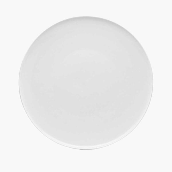 Red Vanilla White Dinnerware plate.