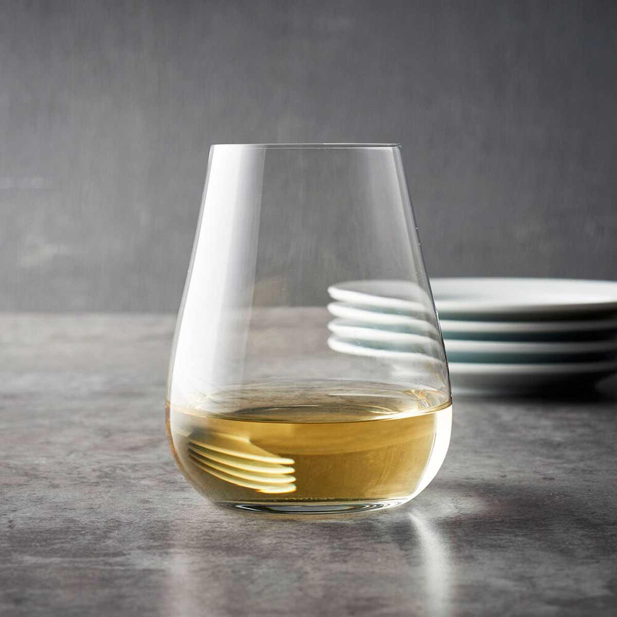 Schott Sqiesel Air Stemless White Wine Glasses
