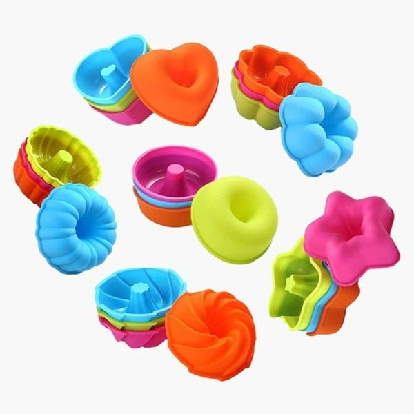 Silicone Cupcake Baking Cups All Colors