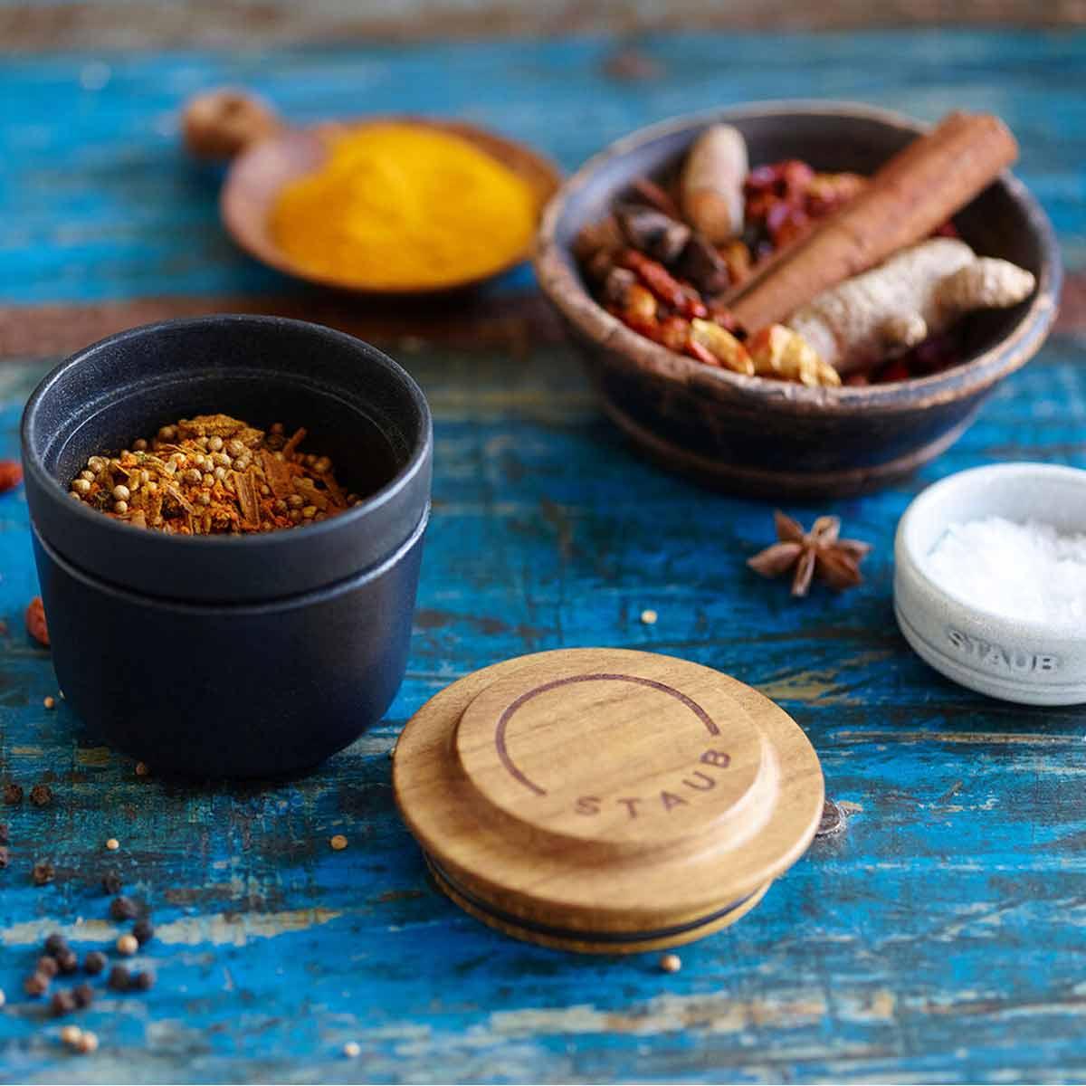 Staub Vintage Spice Grinder with star anise