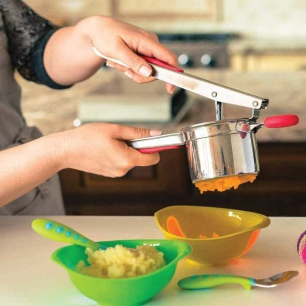 Bellemain Stainless Steel Potato Ricer Pureed Carrots