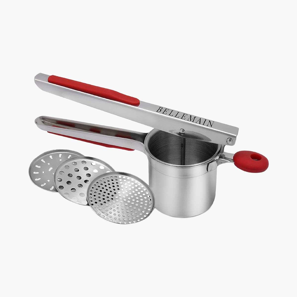 Bellemain Stainless Steel Potato Ricer Set