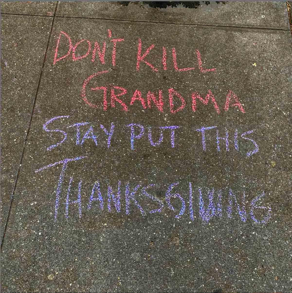 Don't Kill Grandma, Stay Put This Thanksgiving and Zoom