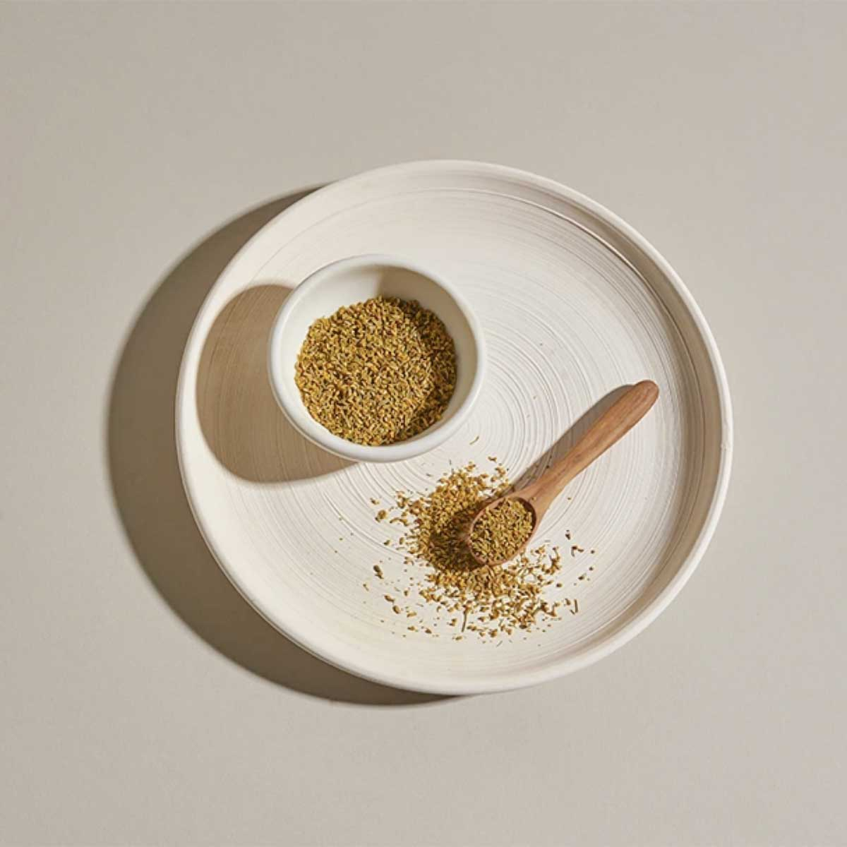 Fennel Pollen in Dish