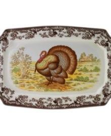 Spode Woodland Turkey Platter