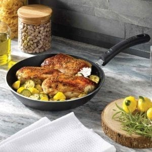 T-fal Non-stick Cookware Set with chicken