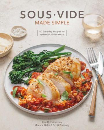 Buy the Sous Vide Made Simple cookbook