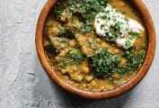 Lentil Soup with Kale