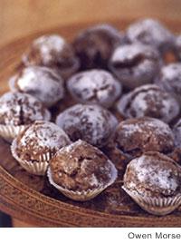 Almond and Walnut Macaroons