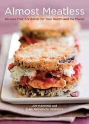 Buy the Almost Meatless cookbook