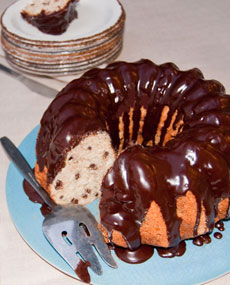 Bundt cake by Nancy Baggett