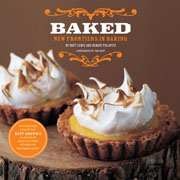 Buy the Baked: New Frontiers in Baking cookbook