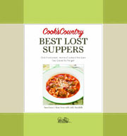 Buy the Cook's Country Best Lost Suppers cookbook