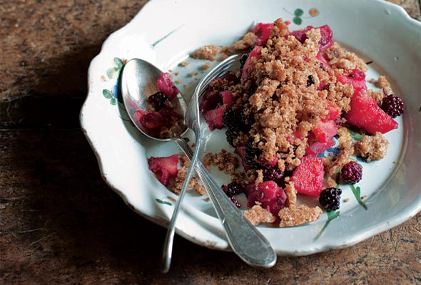 Blackberry Apple Brown Betty