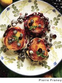 Blueberry Brioche Bread Pudding