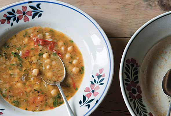 Chickpea and Smoked Paprika Soup
