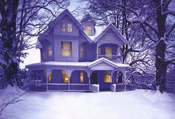 Wintry House