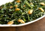 Dandelion Greens Sauteed in Duck Fat